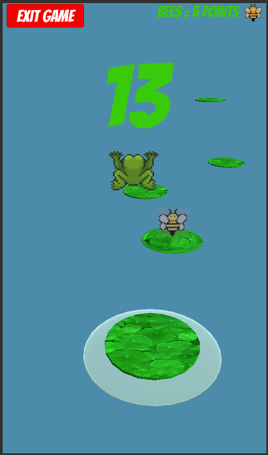 Frankie Frog's Bounce- screenshot