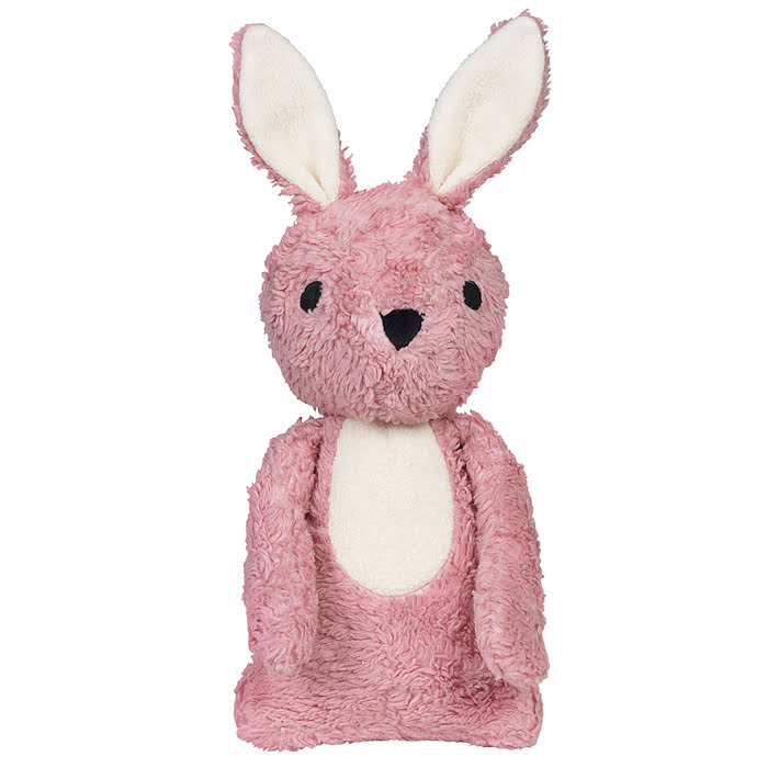 Franck & Fisher Carla pink rabbit cuddle toy