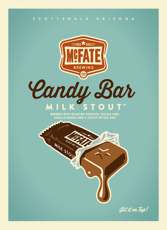 Logo of McFate Candy Bar Milk Stout