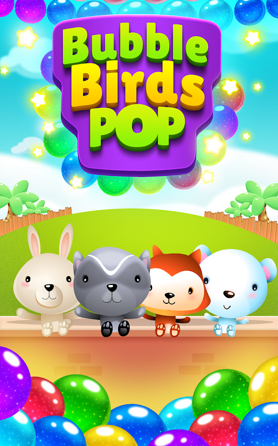 Bubble Birds Pop- screenshot