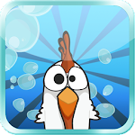 Chicken Deep - The diving Icon