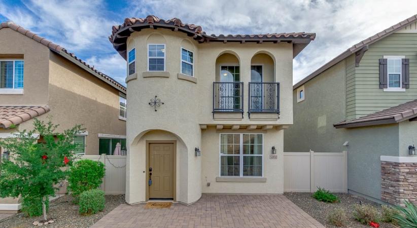 A single-family home in Phoenix, Arizona