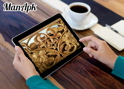 Wood Carving Art Design - náhled