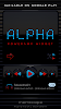 ALPHA Poweramp Skin- screenshot thumbnail