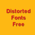 Distored Fonts Free icon