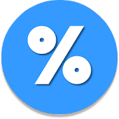 Quick Percentage Calculator - Small Simple Fast
