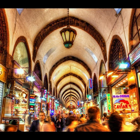 Istanbul,Egyptian bazaar or (Spice_Bazaar). by Mohamed Alzwei - Buildings & Architecture Public & Historical
