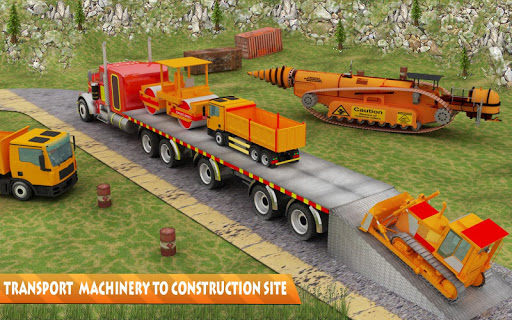 Tunnel Construction Highway 3D for PC