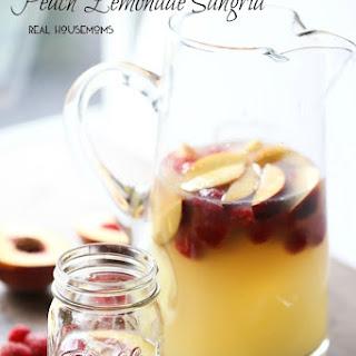 Peach Lemonade Sangria.