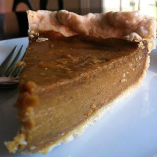 Easy Organic Cashew Pumpkin Pie {Egg-Free, Dairy-Free, Gluten-Free, Soy-Free}