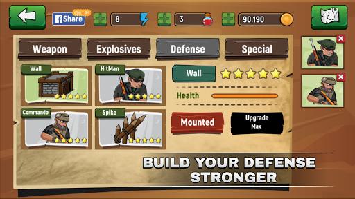 Xây dựng pháo đài trong Zombie Legends mod