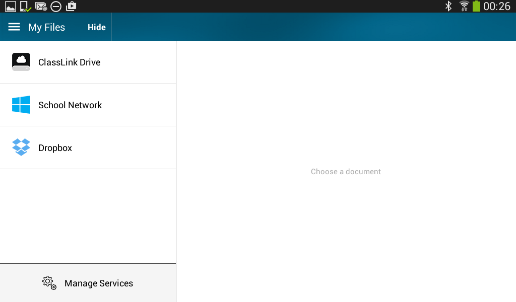 Volusia County Schools VPortal- screenshot