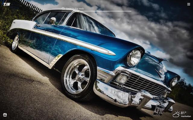 Cadillac Classics HD Wallpapers New Tab Theme