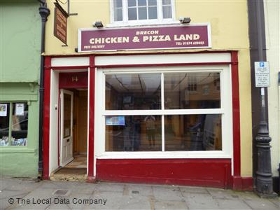 Brecon Chicken Pizza Land On Ship Street Fast Food