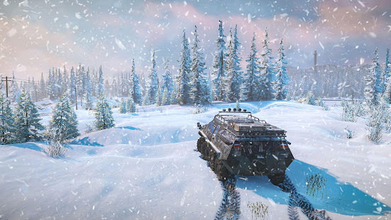 SnowRunner Mobile Game 1.0 APK + Мод (Unlimited money) за Android