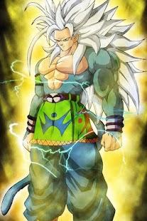 Goku SSJ5 DBZ Wallpaper - náhled