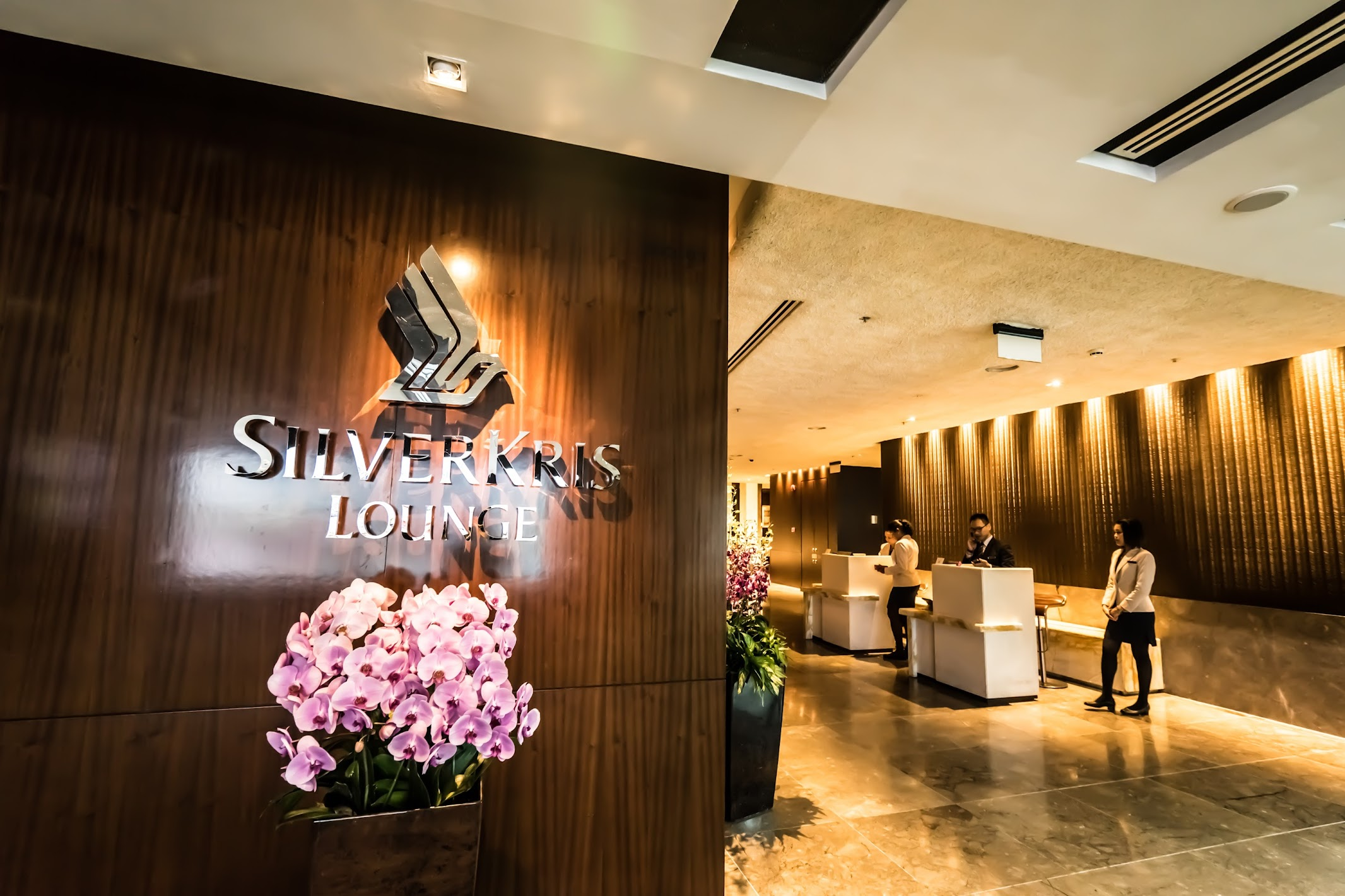 Singapore Airlines Changi airport SilverKris Lounge1