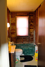 "Photo: (And even if I could find the time, our bathroom looks like this. Not exactly the home ""spa"" I'd love to have.)"