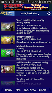 KY3 Weather- screenshot thumbnail