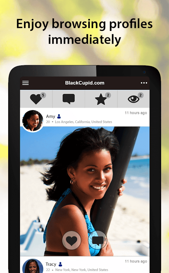 BlackCupid - Black Dating App- screenshot