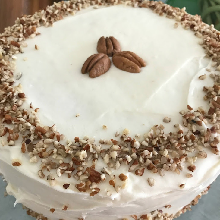 Italian Cream Cake with Nutty Cream Cheese Frosting Recipe