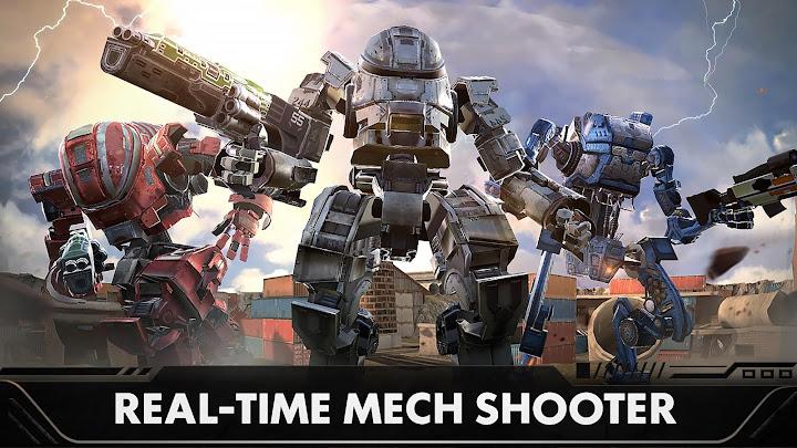 Last Battleground: Mech Android App Screenshot