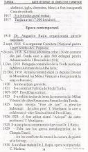 Photo: 14 Placa comemorativa  caramizi, tigle, cherestea, banci; A fost inaugurata Casa de cultura; 1917 - S-a introdus gazul metan; EPOCA CONTEMPORANA 1918 - Dr. Augustin Ratiu organizeaza garzile nationale - 2 sept. 1918 - S-a organizat Comitetul National  pentru Unire condus de I. Popescu;      2 nov.. 1918 - S-a tinut adunarea celor 130 de comune din jud. Turda care a ales 500 de delegati pentru Adunarea de la 1 Decembrie 1918;  1 dec. 1918 - Delegatia romanilor de la Turda participa la Marea Adunare de la Alba iulia 22 dec. 1918 Armata romana dupa ce depune Onorul la Mormantul lui Mihai Viteazul a fost primita in oras cu bucurie