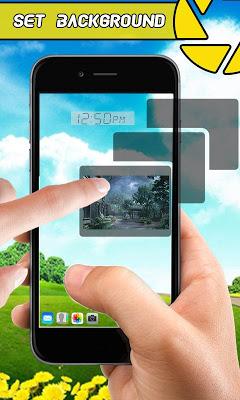 TransparentScreenWallpaper - screenshot