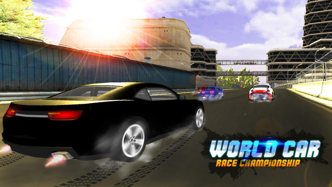 World car race championship screenshot