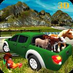 Farm Animals Transporter 3D 1.0 Apk