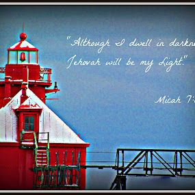 Light by Robert George - Typography Quotes & Sentences (  )