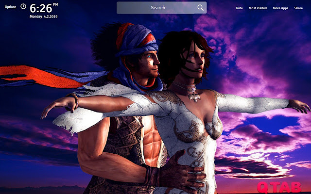 Prince Of Persia Wallpapers New Tab