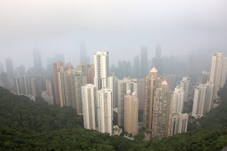 Photo: Day 194 - The View from Victoria Peak on HK Island (Hong Kong)