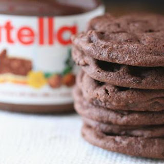 3-Ingredient Nutella cookie.