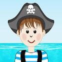 Tiny Book Pirate and Sea icon