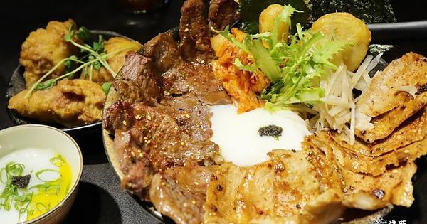漂丿燒肉食堂~肉多到你喊怕!豐盛雙拼與震撼戰斧丼飯,還有超值商業午餐