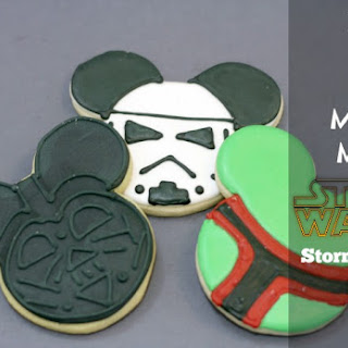 Make Your Own Star Wars Mickey Mouse Cookies