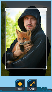 Fox Photo Crop Editor - náhled