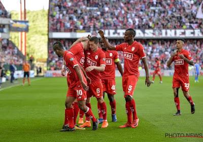 Standard wint overtuigend met 5-0 tegen KRC Genk en doet nog mee in de titelstrijd