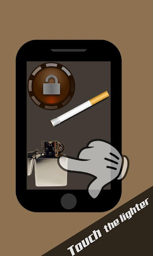 Cigarette Lighter Lock Screen