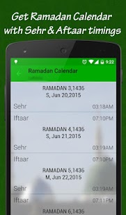 Ramadan 2017:Timing & Calendar- screenshot thumbnail