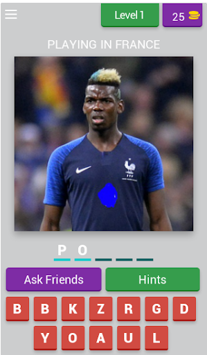 Guess The Player - Word Cup 2018
