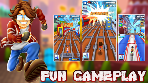 Subway Boy Run: Endless Runner Game screenshot 14