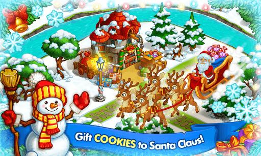 Farm Snow: Happy Christmas Story With Toys & Santa 1.48 screenshots 7
