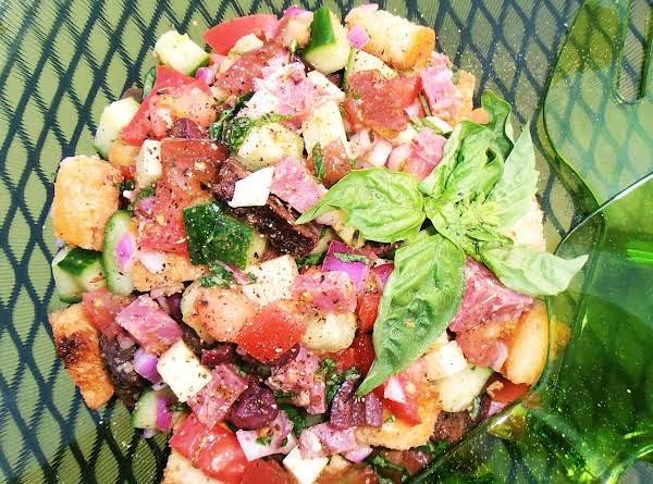 Poppin' Panzanella Salad Recipe