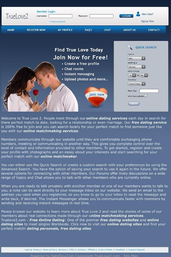 true match online dating True match - welcome to our online dating site where you could find potential matches according to your location sign up and start chatting online for free true match  top 3 of the most popular paid dating sites eharmony, match, and perfectmatch.