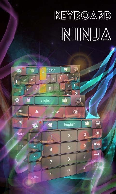 Ninja Keyboard- screenshot