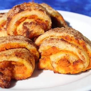 Pumpkin Pie Roll Ups