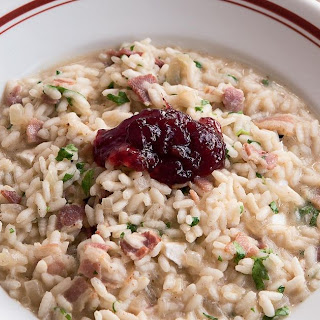 Brie and Bacon Risotto.