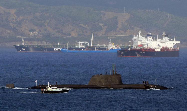Libres Por Algeciras pide la activación del Plan de Emergencia Nuclear de la Armada